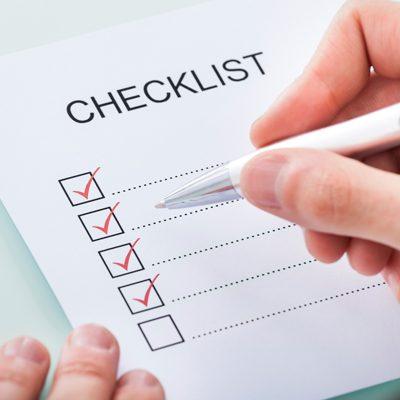 contessa checklist image