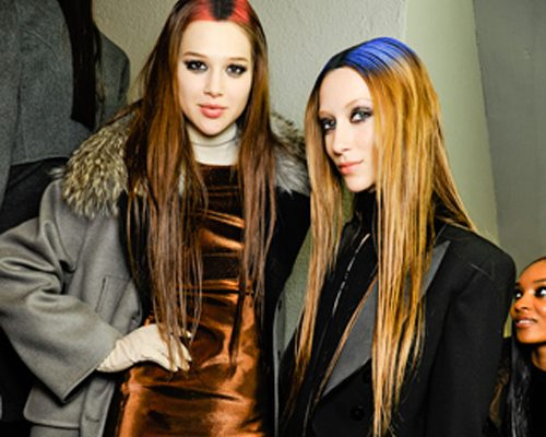 Fashion Week hair trends for Fall/Winter 2012 1