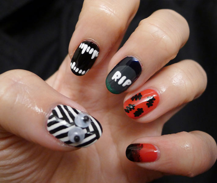 Spook Able Nail Designs For Halloween Salon