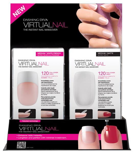 New Dashing Diva Virtual Nail Gives a Quick Nail-over - Salon