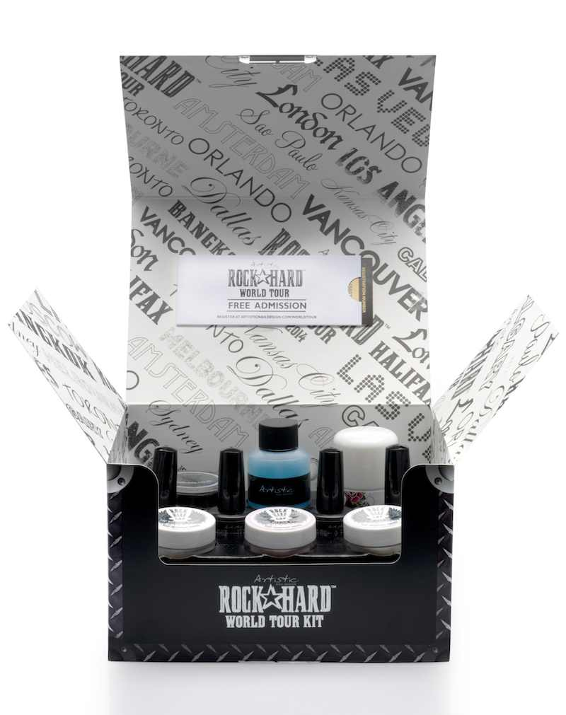 Artistic Rock Hard World Tour Kit is Now Available - Salon