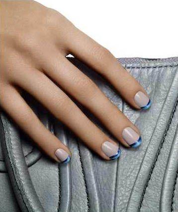 Create Essie Nail Art: Modern French Manicure   Salon