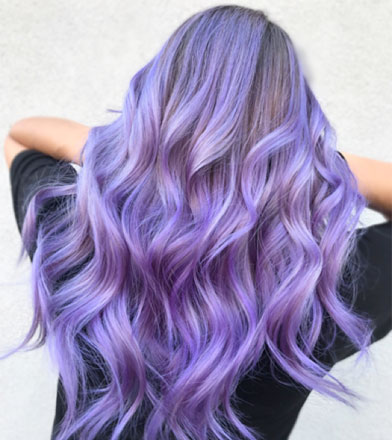 4 Ultra-Violet Ways to Change Your Clients' Hair Colour