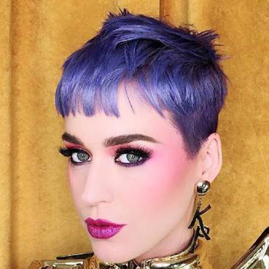 How-To: Katy Perry's Blueberry Crush Hair Colour