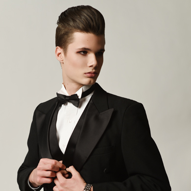 Formal Androgyny – Hair Collection by Heather Wenman