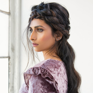 How-To: Braided Half-Updo for the Holidays