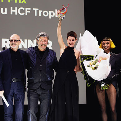 The Winners of the Haute Coiffure Française (HCF) International Trophy