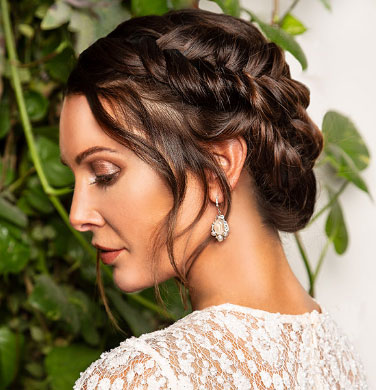 "Our ""So You Think You Can Style?"" Bridal Hair Winner!"