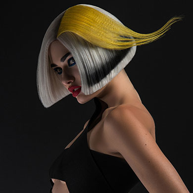 Electric Shock – Hair Collection by Matthew Morris