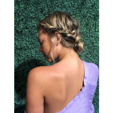 How-to: Effortless Twisted Updo